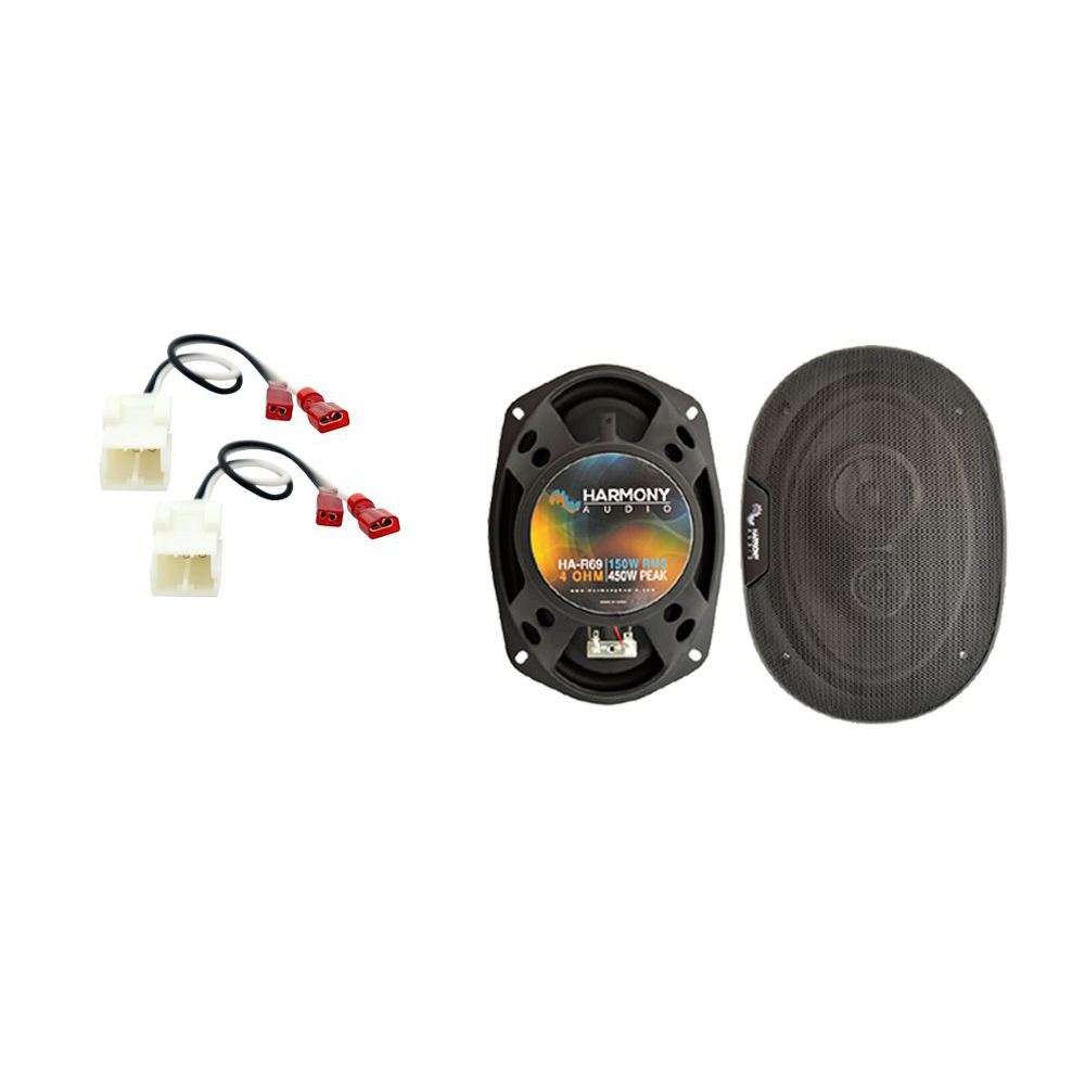 Fits Dodge Charger 2005-2010 Rear Deck Replacement Harmony HA-R69 Speakers New