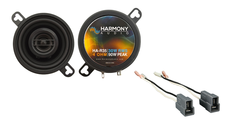 Fits Dodge Colt Vista 1987-1991 Front Dash Replacement Harmony HA-R35 Speakers