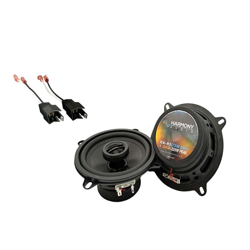Fits Dodge Dynasty 1988-1993 Front Door Replacement Harmony HA-R5 Speakers New