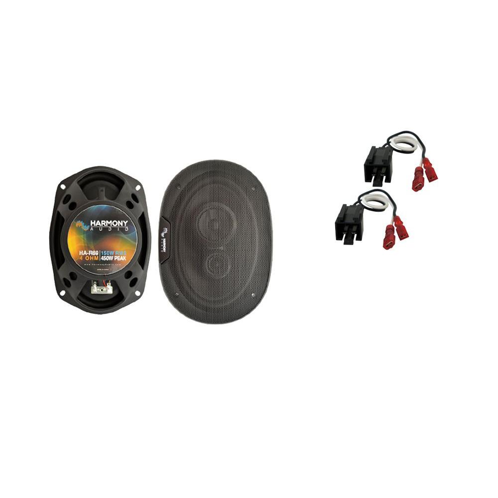 Fits Dodge Intrepid 1998-2004 Rear Deck Replacement Speaker Harmony HA-R69 New