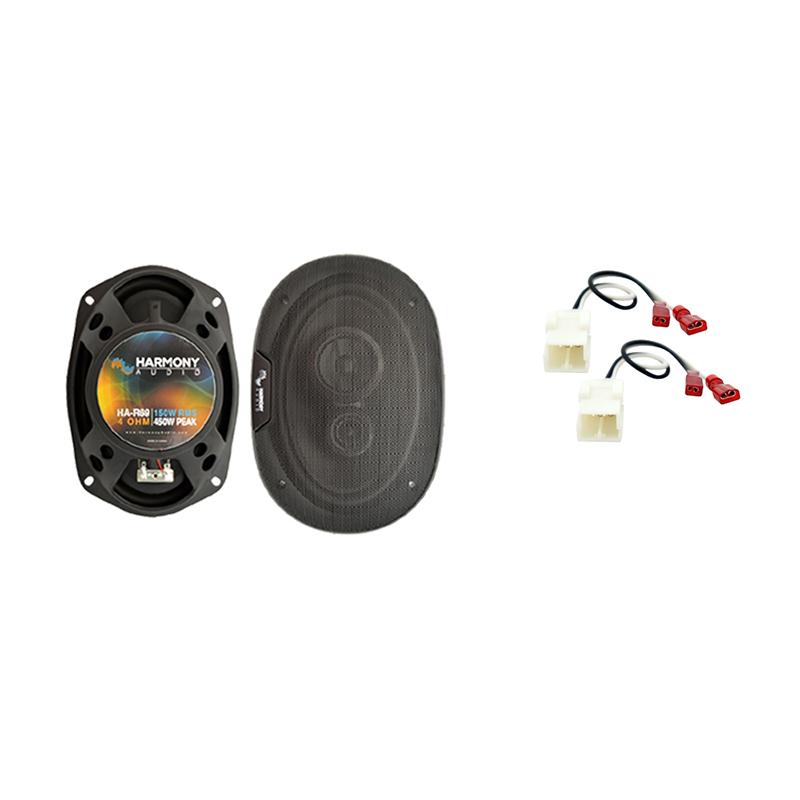 Fits Dodge Magnum 2005-2007 Front Door Replacement Harmony HA-R69 Speakers New