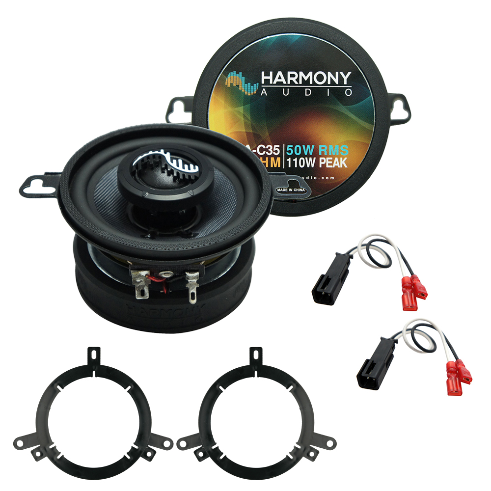 Fits Dodge Neon 1995-2001 Front Dash Replacement Speaker Harmony HA-C35 Premium Speakers