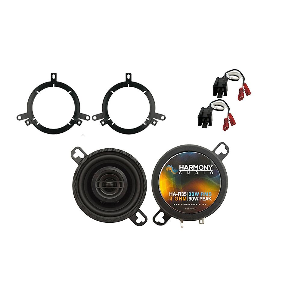 Fits Dodge Neon 2002-2006 Front Dash Replacement Speaker Harmony HA-R35 Speakers