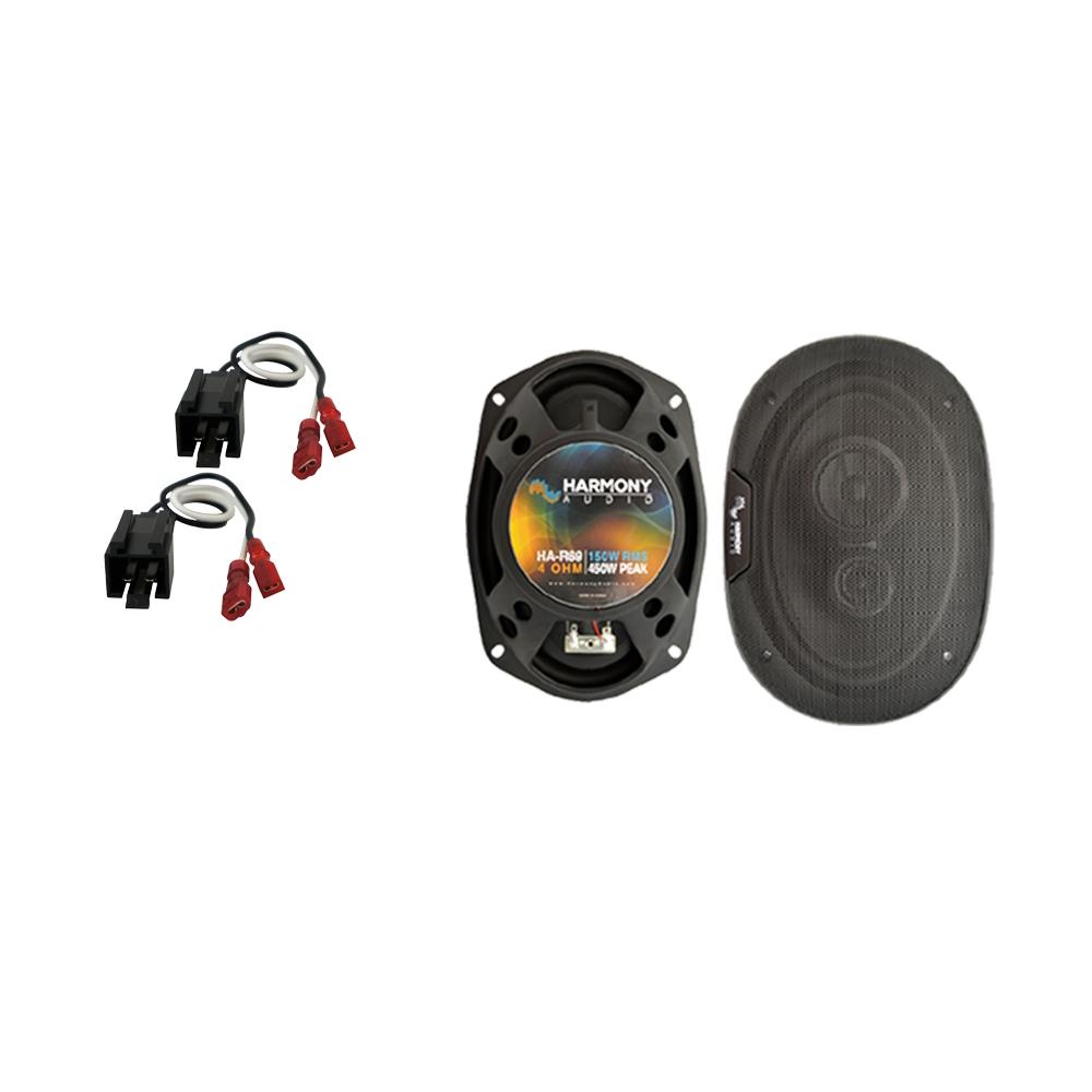 Fits Dodge Neon 2002-2006 Rear Deck Replacement Speaker Harmony HA-R69 Speakers
