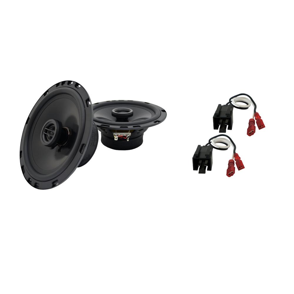 Fits Dodge Stratus 1995-2000 Front Door Replacement Harmony HA-R65 Speakers New