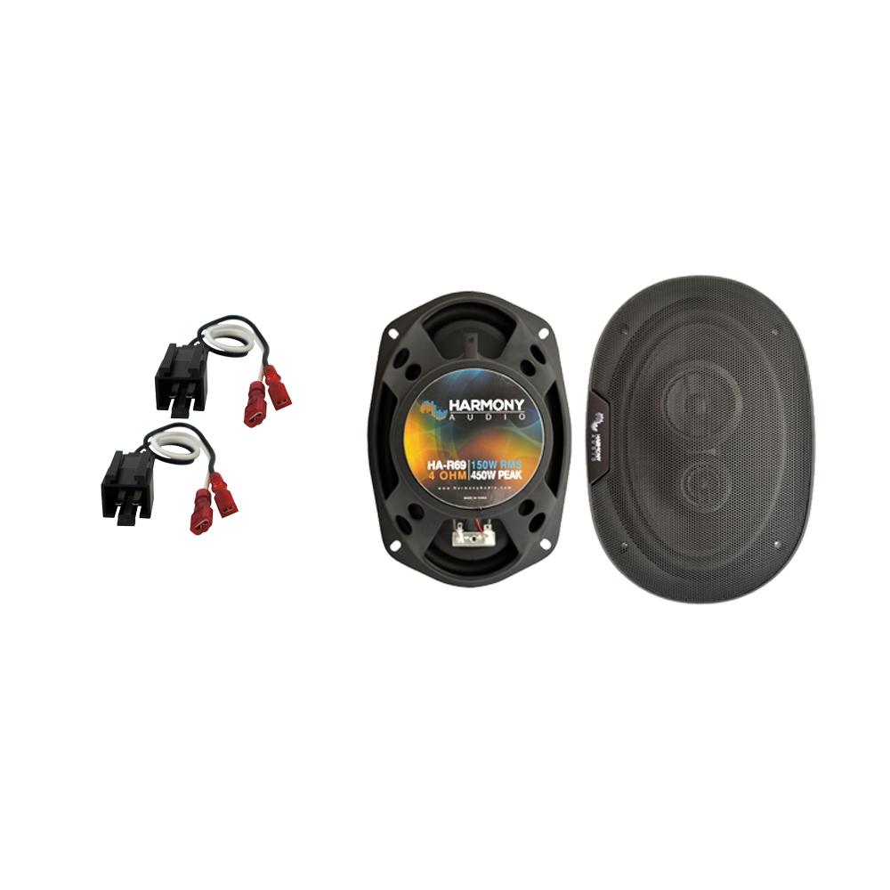 Fits Dodge Stratus 2001 Front Door Replacement Speaker Harmony HA-R69 Speakers