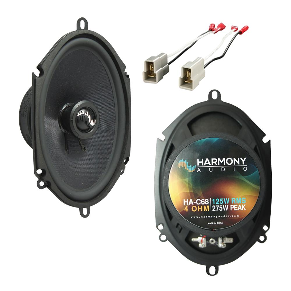 Fits Ford Contour 1995-2000 Front Door Replacement Harmony HA-C68 Premium Speakers New
