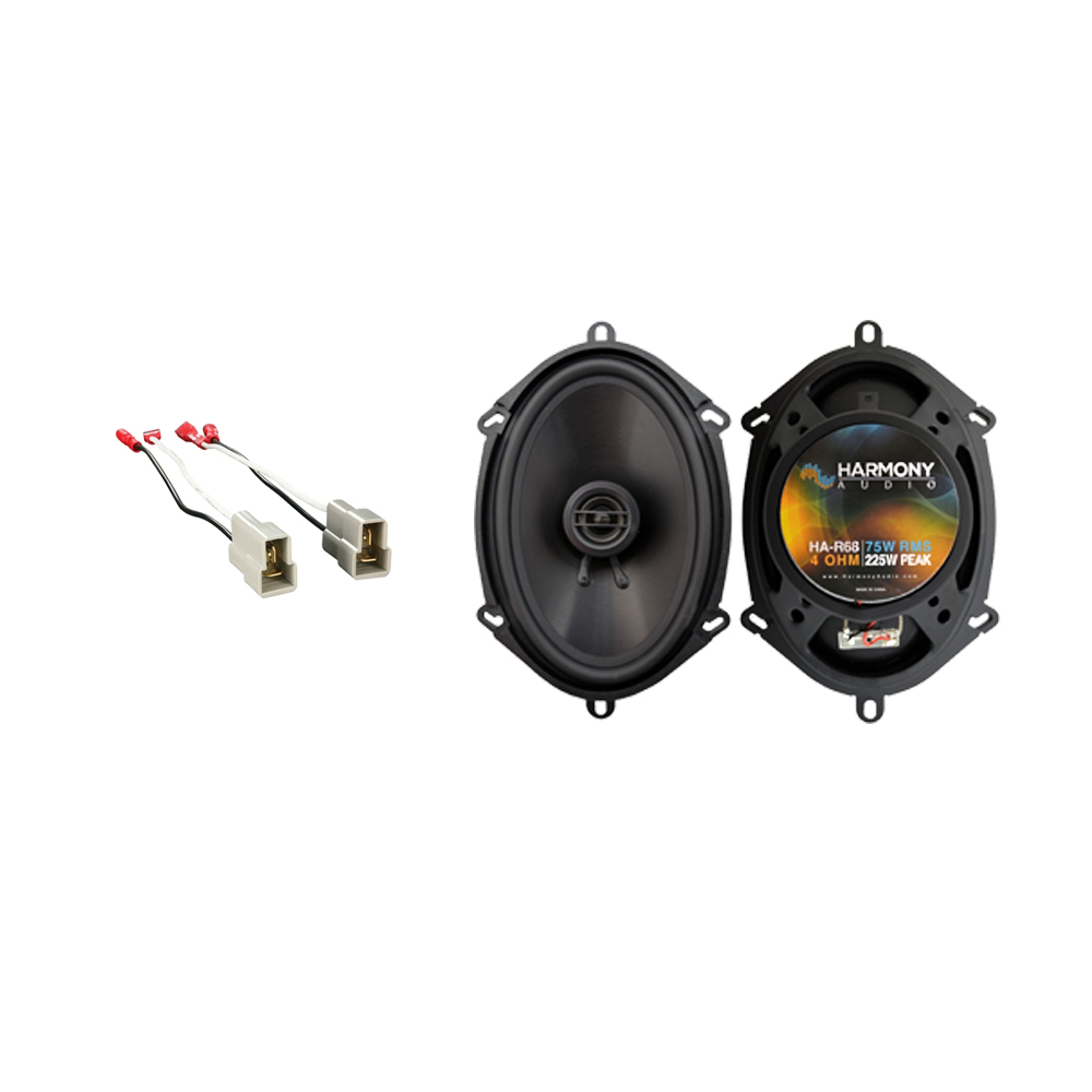 Fits Ford Contour 1995-2000 Front Door Replacement Harmony HA-R68 Speakers New