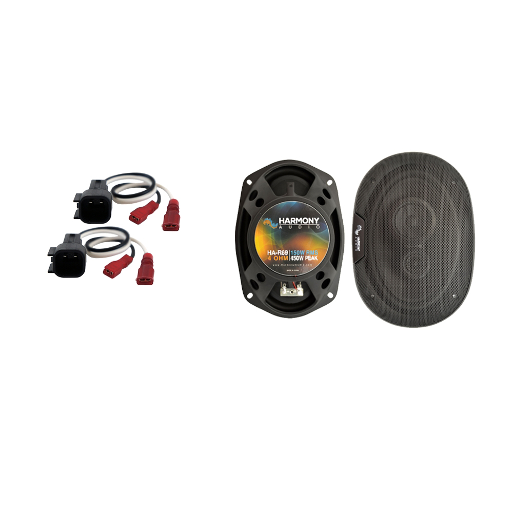 Fits Ford Crown Victoria 1998-2011 Rear Deck Replacement Harmony HA-R69 Speakers