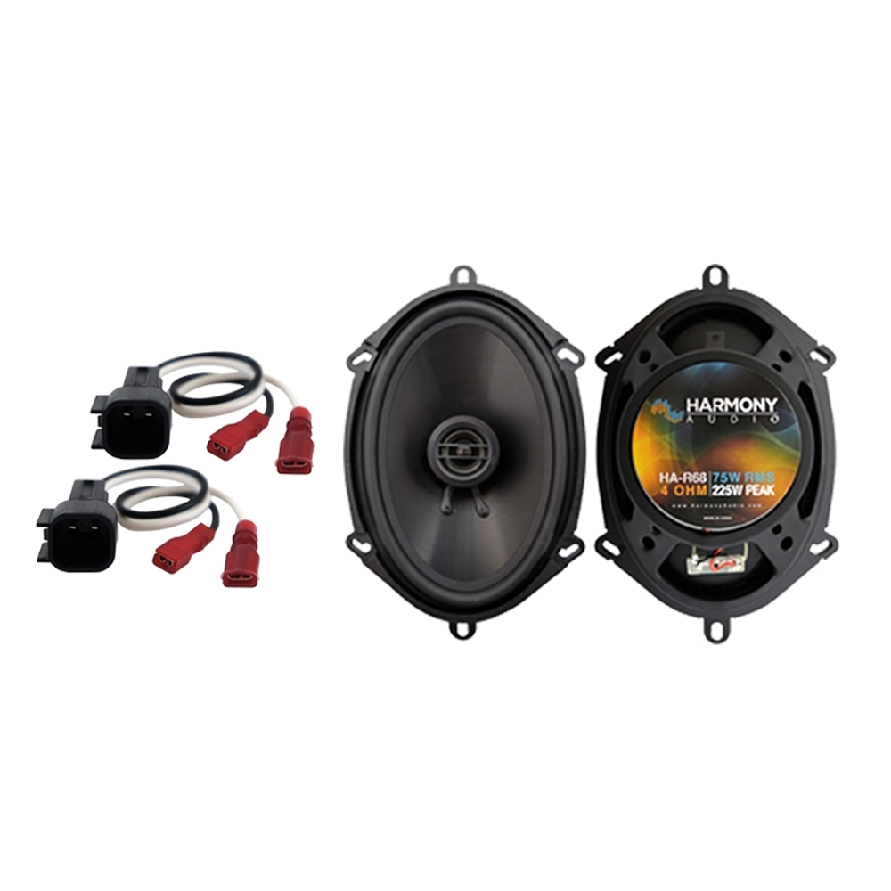 Fits Ford Escape Hybrid 2004-2007 Front Door Replacement Harmony HA-R68 Speakers