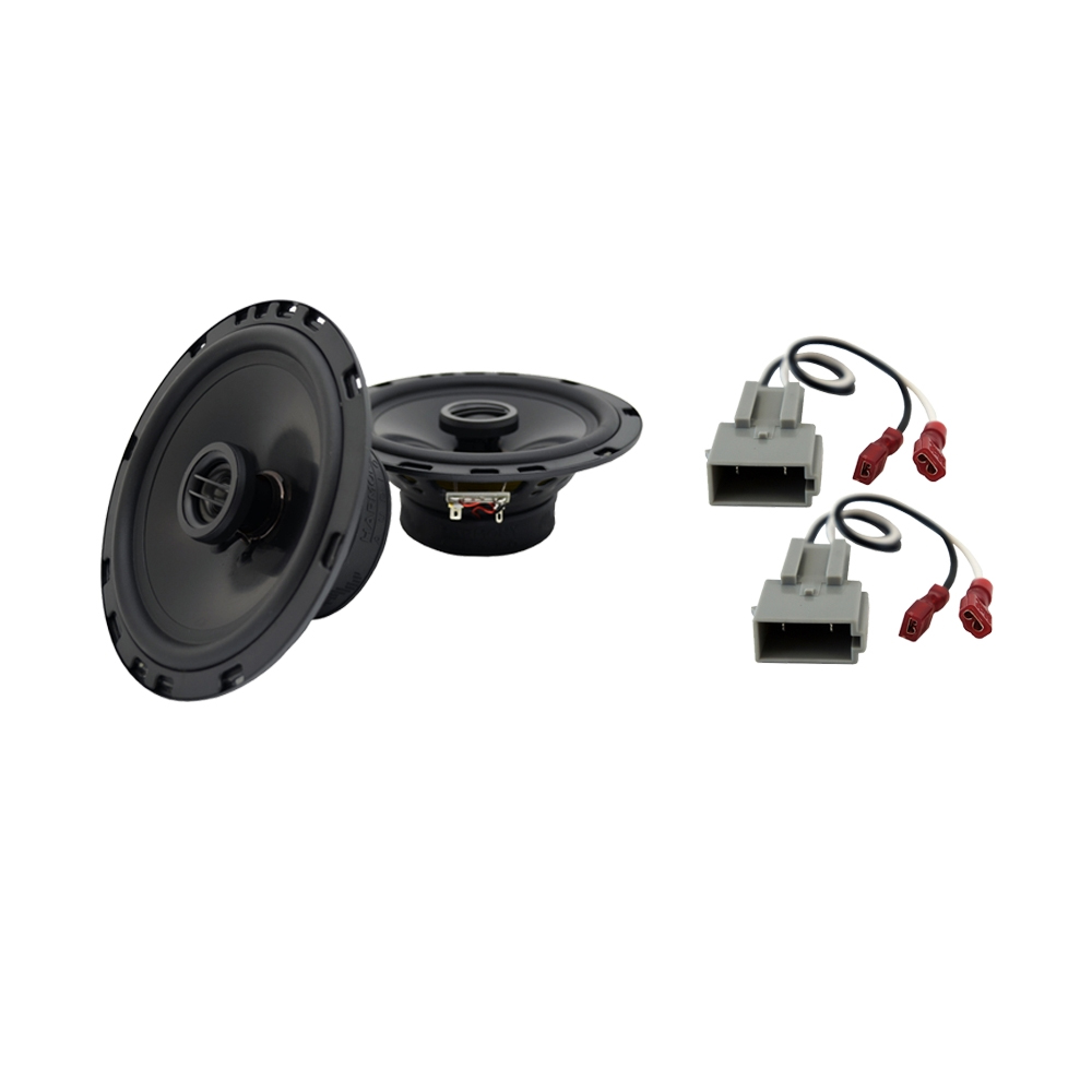 Fits Ford Escort 1991-1996 Rear Deck Replacement Speaker Harmony HA-R65 Speakers