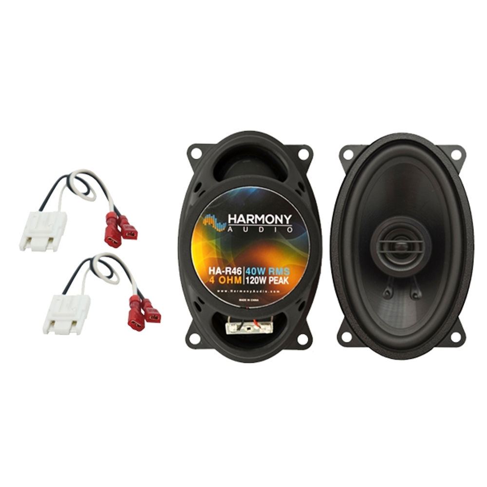 Fits Ford Expedition Fleet 2003 Front Door Replacement Harmony HA-R68 Speakers