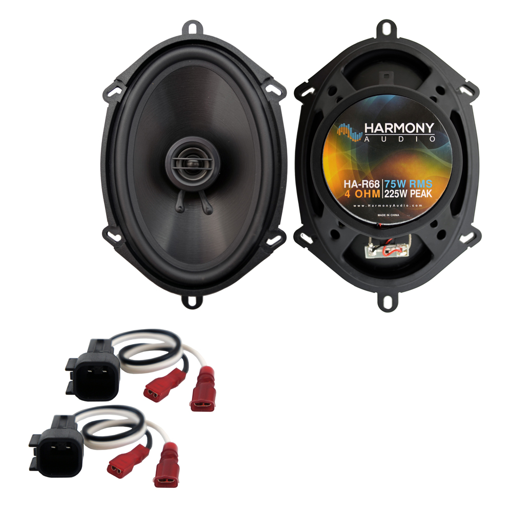 Fits Ford Expedition Fleet 2003 Rear Door Replacement Harmony HA-R68 Speakers