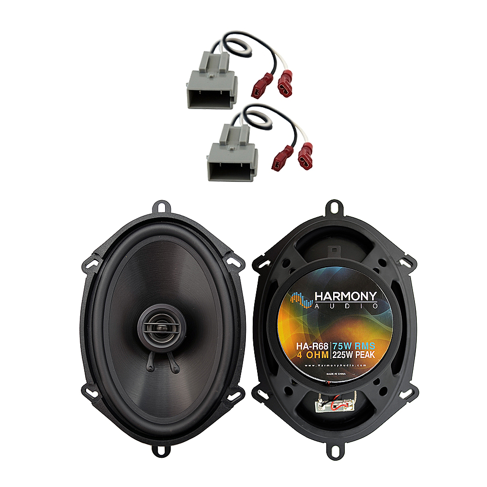 Fits Ford F-250 1997-1998 Front Door Replacement Speaker Harmony HA-R68 Speakers