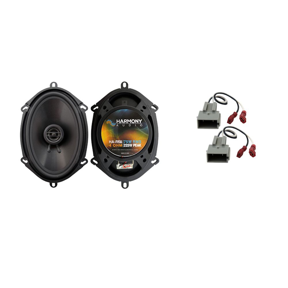 Fits Ford F-250 2017 Front Door Replacement Speaker Harmony HA-R68 Speakers New