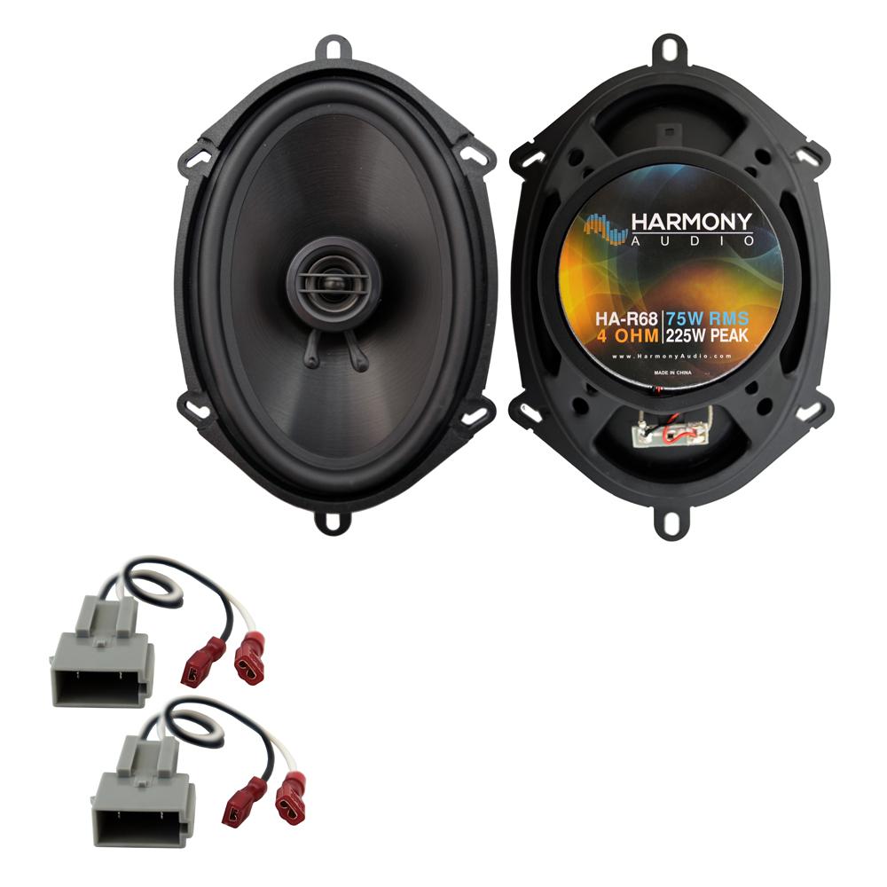 Fits Ford F-450 1997-1998 Rear Door Replacement Speaker Harmony HA-R68 Speakers