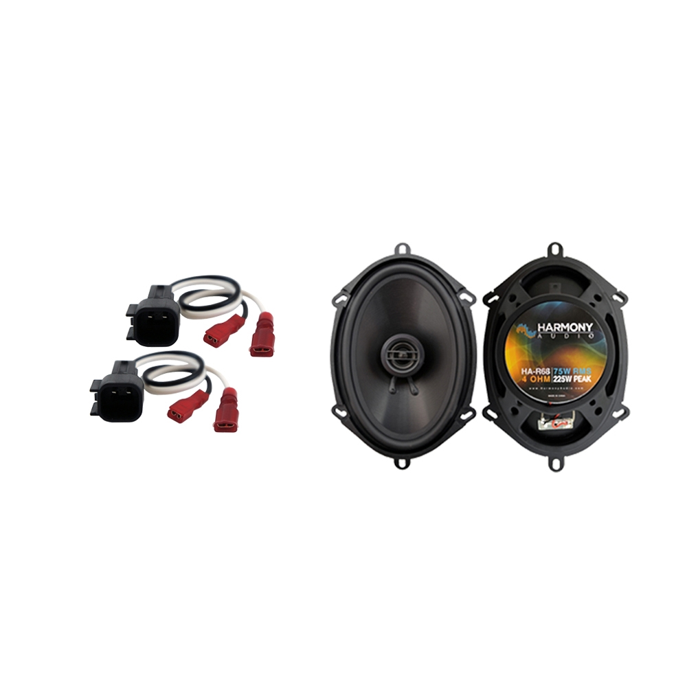 Fits Ford F-450 2017 Front Door Replacement Speaker Harmony HA-R68 Speakers New