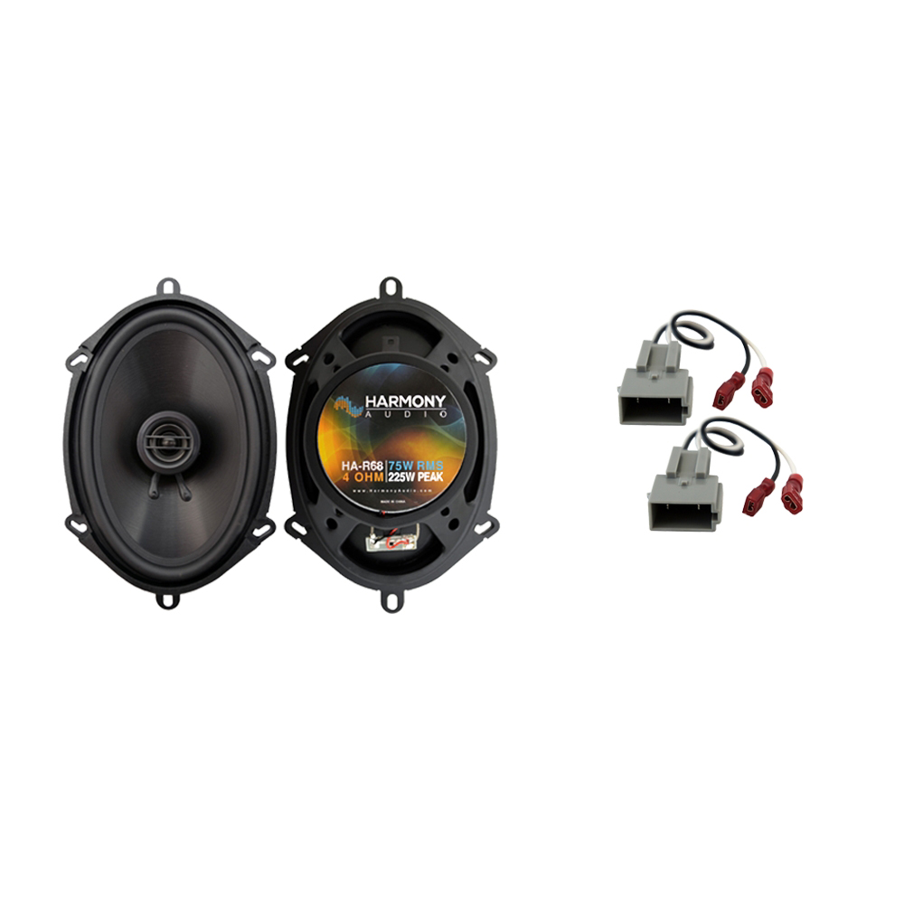 Fits Ford F-650 2011-2017 Front Door Replacement Speaker Harmony HA-R68 Speakers