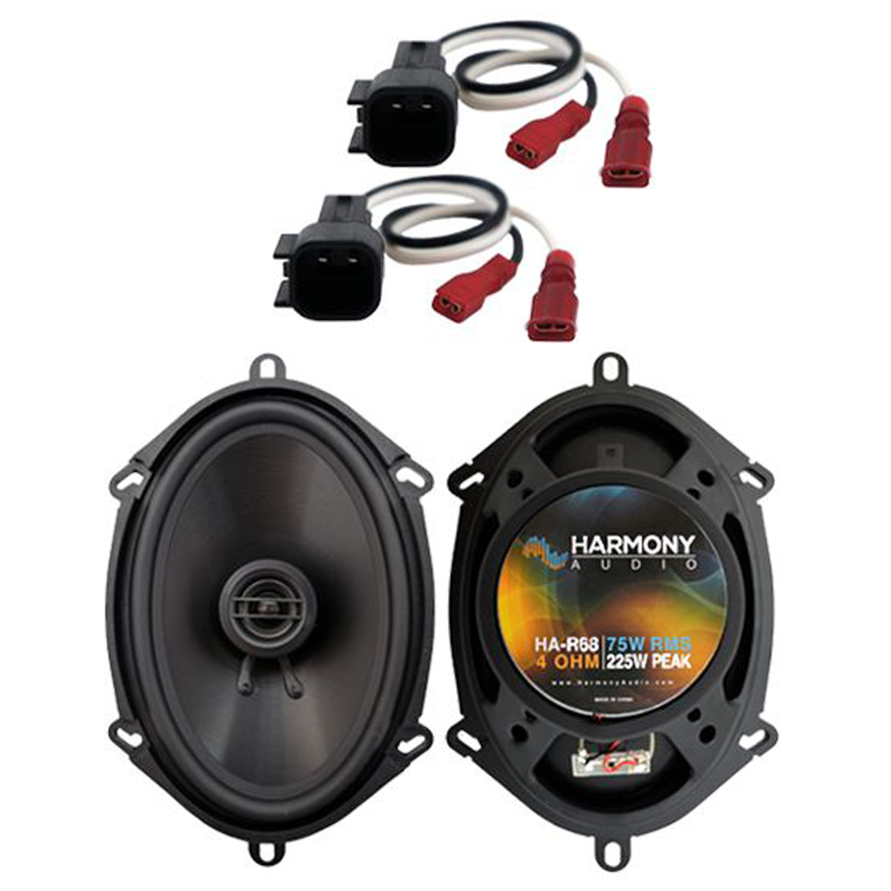 Fits Ford F-750 2011-2017 Rear Door Replacement Speaker Harmony HA-R68 Speakers