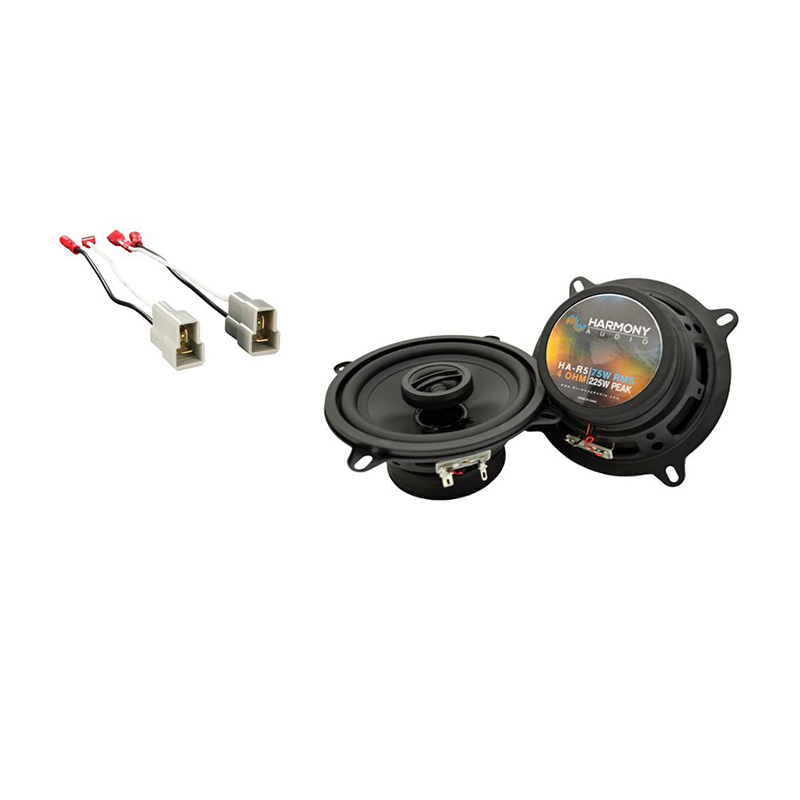 Fits Ford Festiva 1988-1993 Rear Shelf Replacement Harmony HA-R4 Speakers New
