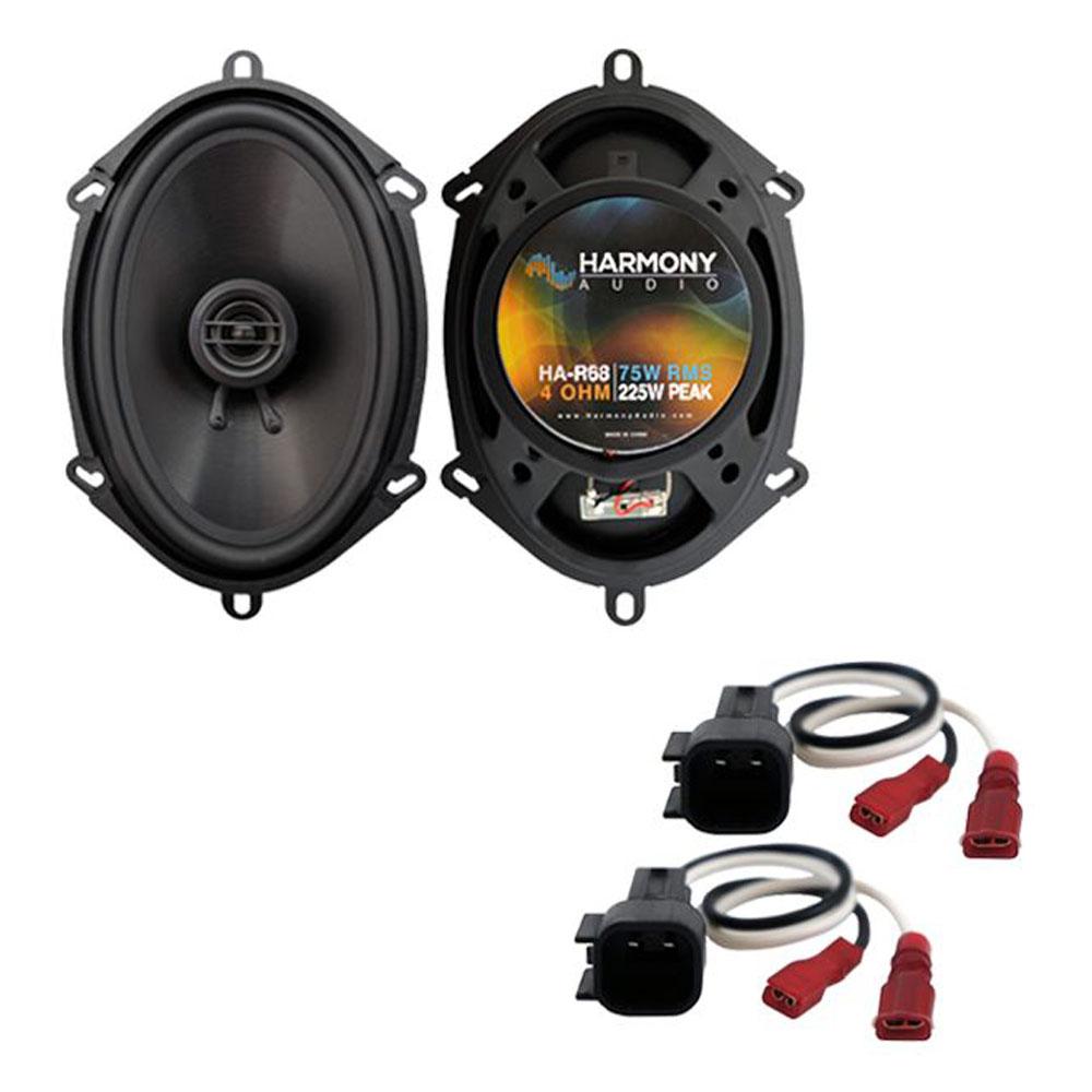 Fits Ford Focus 2000-2007 Rear Door Replacement Speaker Harmony HA-R68 Speakers