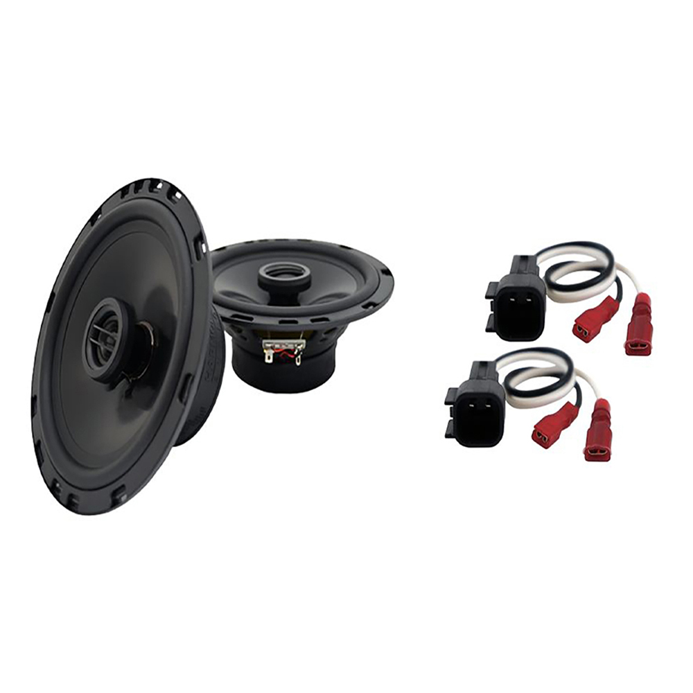 Fits Ford Fusion 2006-2009 Front Door Replacement Harmony HA-R65 Speakers New