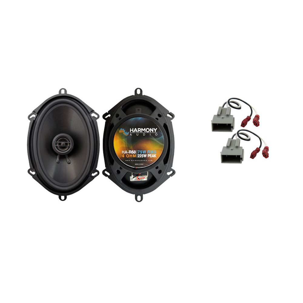 Fits Ford Mustang 1999-2004 Rear Deck Replacement Harmony HA-R68 Speakers New