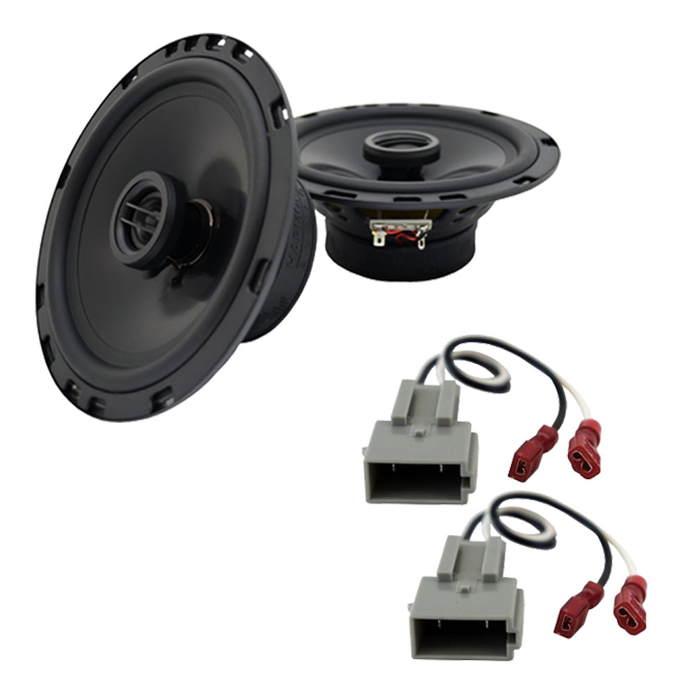 Fits Ford Probe 1998-1992 Front Door Replacement Harmony HA-R65 Speakers New