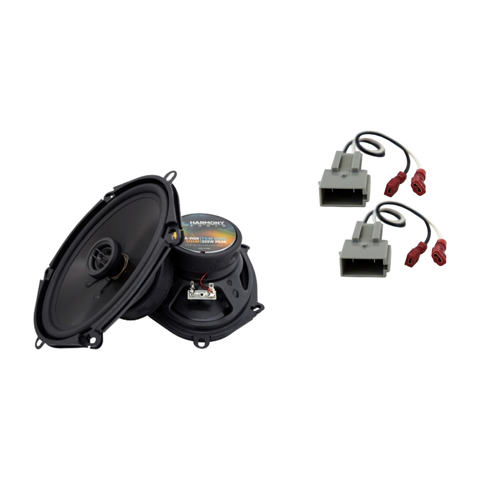 Fits Ford Ranger 1994-1997 Front Door Replacement Harmony HA-R68 Speakers New