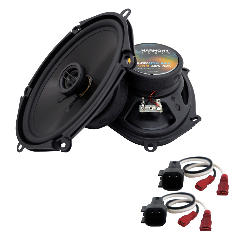 Fits Ford Ranger 1998-2011 Rear Side Panel Replacement Harmony HA-R68 Speakers
