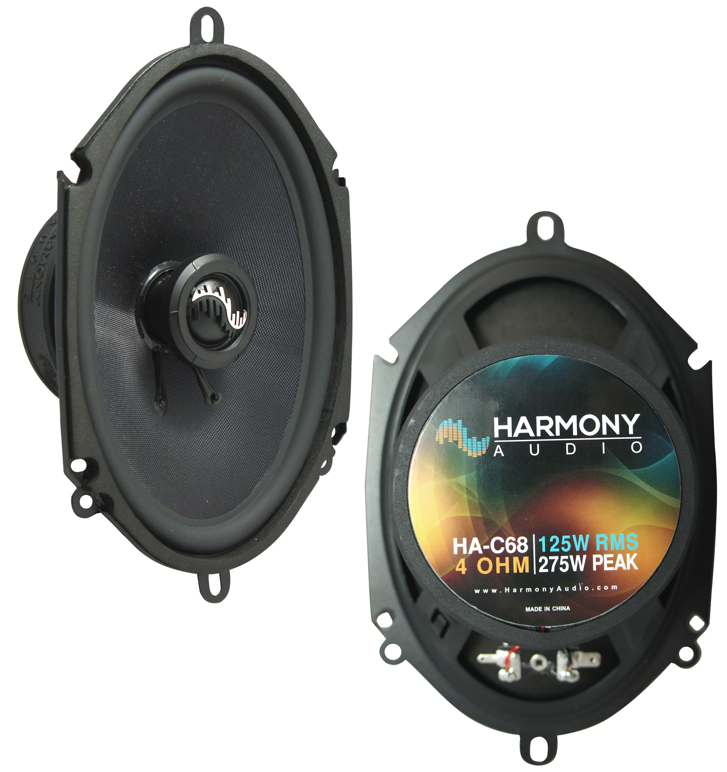 Fits Ford Taurus 2008-2009 Rear Deck Replacement Harmony HA-C68 Premium Speakers New