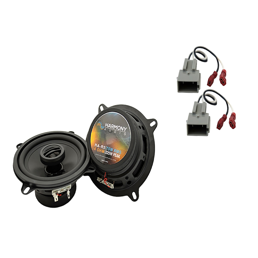 Fits Ford Tempo 1989-1994 Front Door Replacement Speaker Harmony HA-R5 Speakers