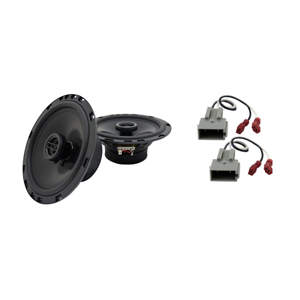 Fits Ford ZX2 1997-2004 Front Door Replacement Speaker Harmony HA-R65 Speakers
