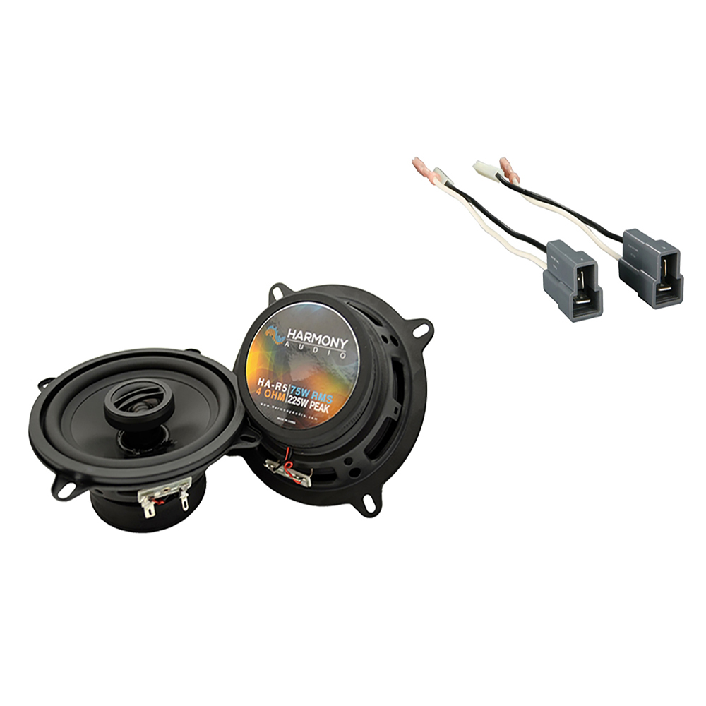 Fits Geo Storm 1990-1993 Front Door Replacement Speaker Harmony HA-R4 Speakers