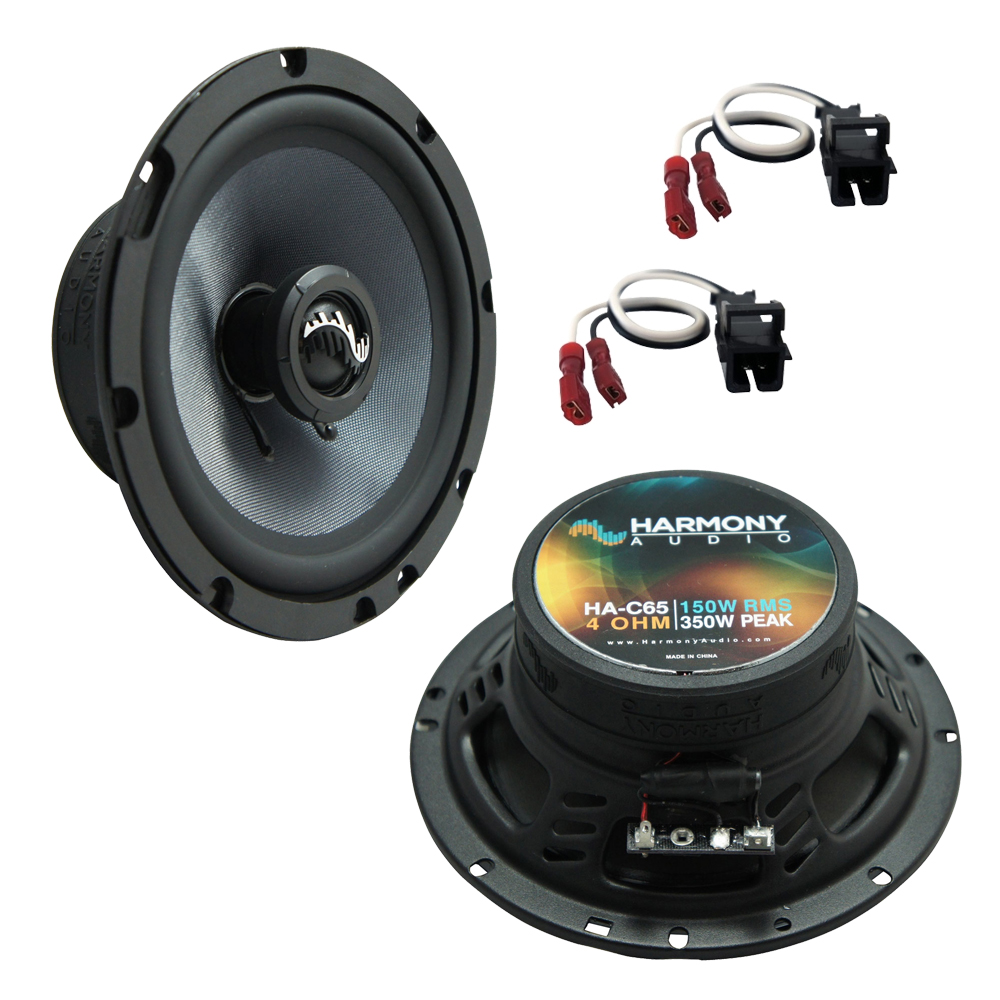 Fits GMC S-15 Canyon 2004-2012 Rear Door Replacement Harmony HA-C65 Premium Speakers New