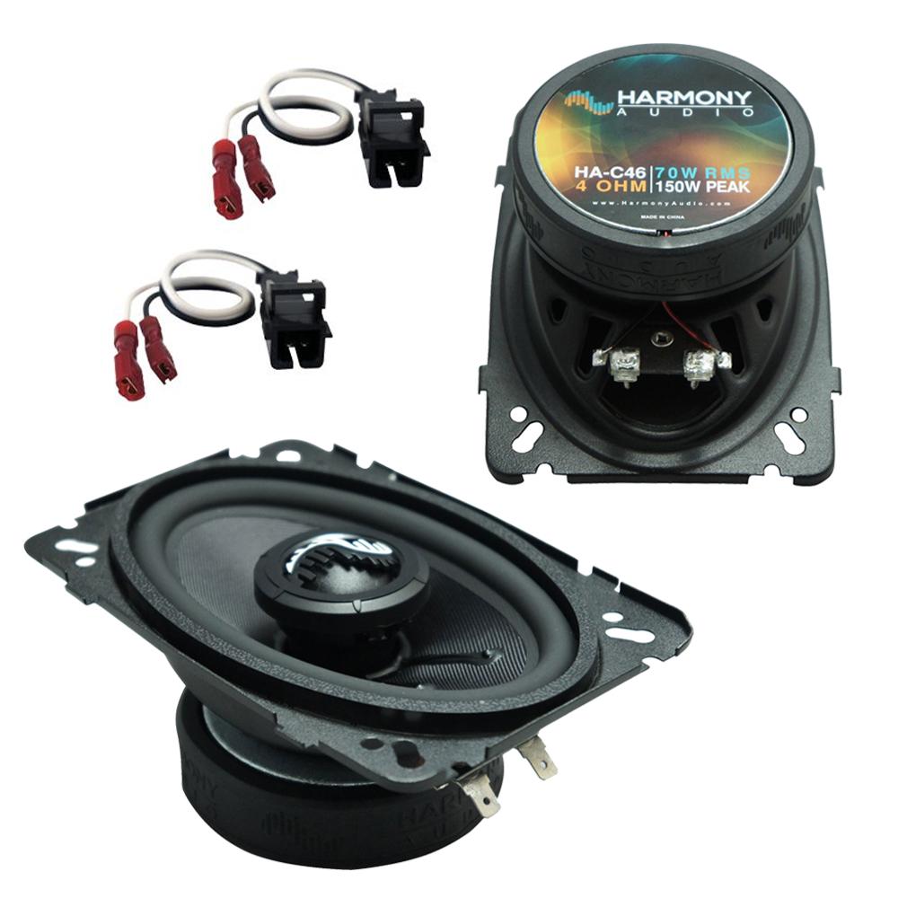 Fits GMC S-15 Sonoma 1994-1997 Rear Side Panel Premium Speaker Replacement Harmony HA-C46 New