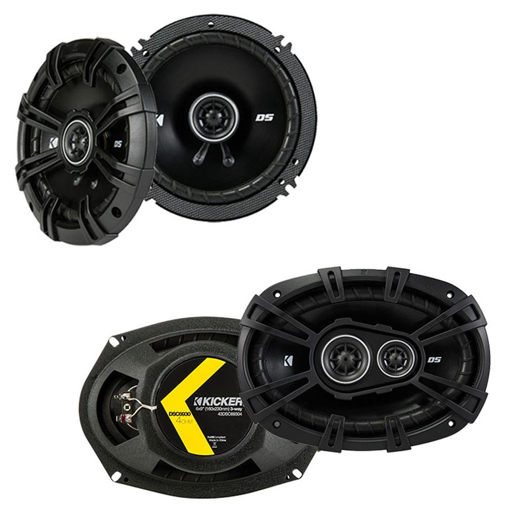 Jeep Grand Cherokee 05-13 OEM Speaker Replacement Kicker DSC693 DSC65 Package