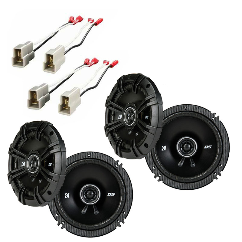 Nissan 300ZX 1984-1989 Factory Speaker Replacement Kicker (2) DSC65 Package New