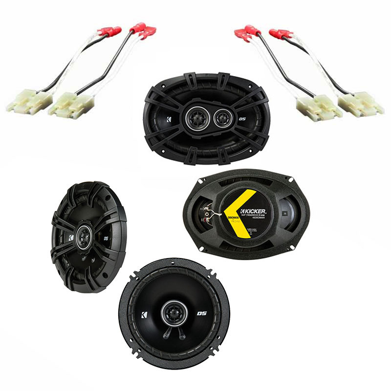 Nissan Pathfinder S 2008-2012 OEM Speaker Upgrade Kicker DS Series Package New