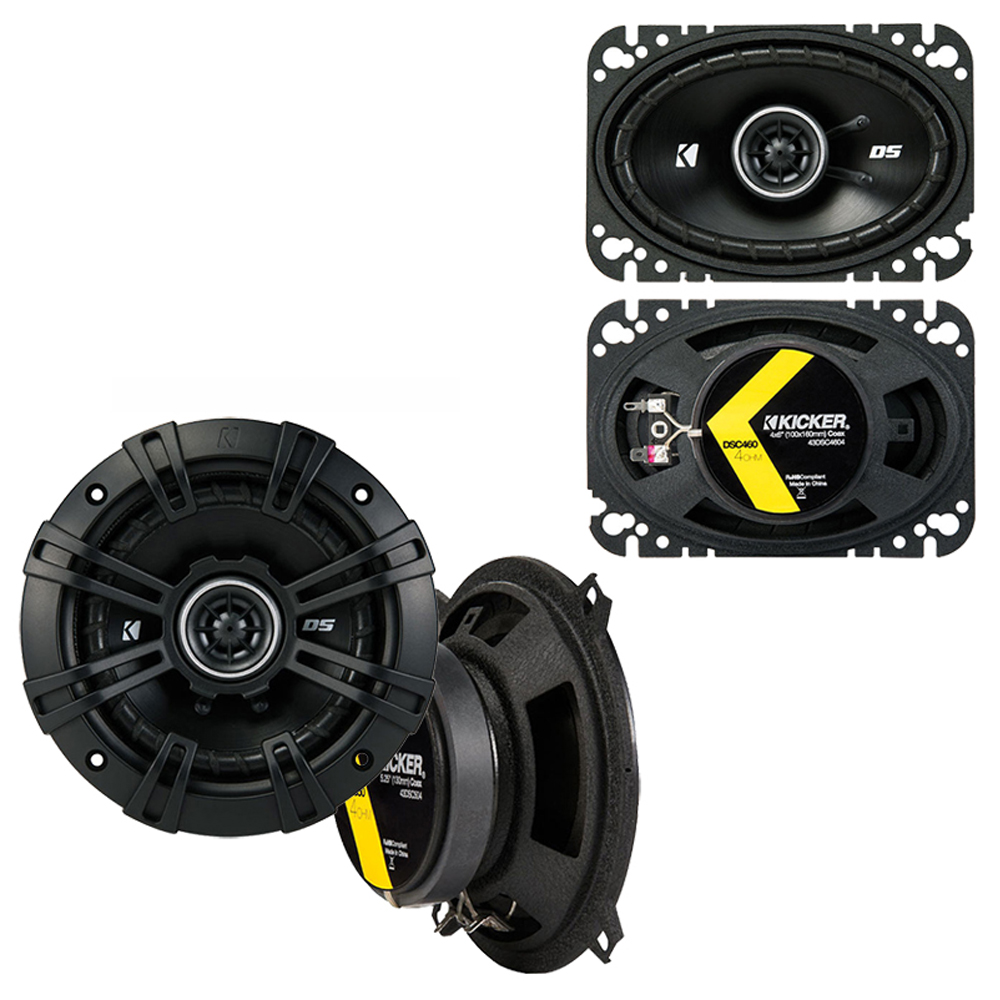 Porsche 911 1973-1997 Factory Speaker Replacement Kicker DSC5 DSC46 Package New