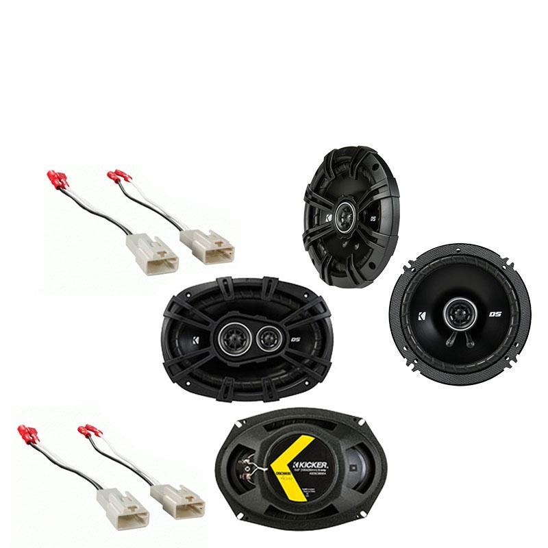 Toyota Sequoia 2008-2014 Factory Speaker Upgrade Kicker DSC693 DSC65 Package New