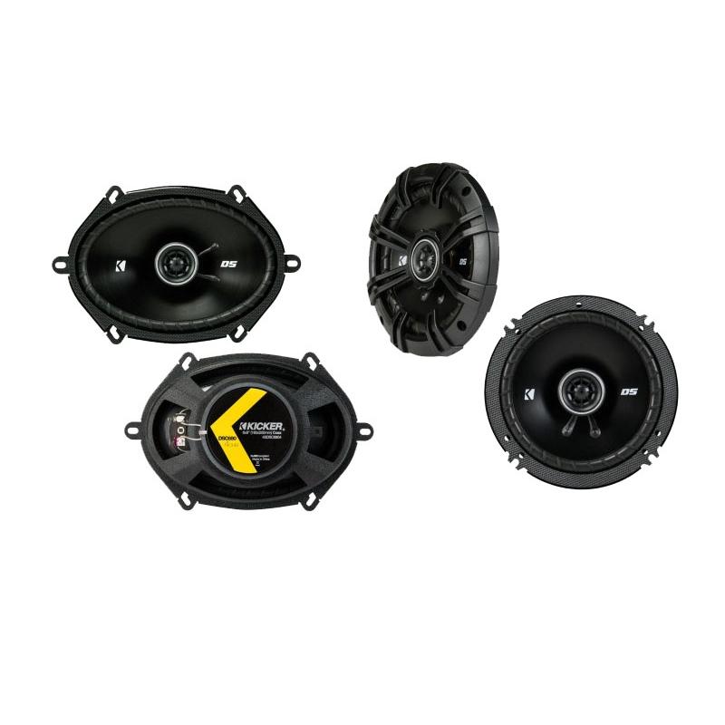 Toyota Sienna 2004-2010 Factory Speaker Upgrade Kicker (2) DSC65 Package New