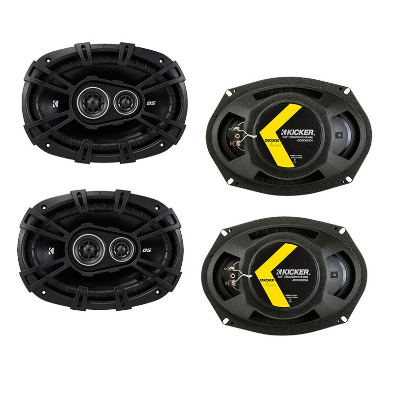 Dodge Avenger 2007-2014 Factory Speaker Upgrade Kicker (2) DSC693 Package New