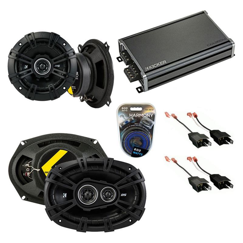 Compatible with Dodge Caravan 1984-2000 Factory Speaker Replacement Kicker DSC5 DSC693 & CXA360.4