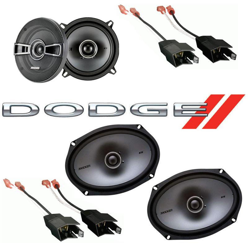 Dodge Caravan 1984-2000 Factory Speaker Upgrade Kicker KSC5 KSC69 Package New