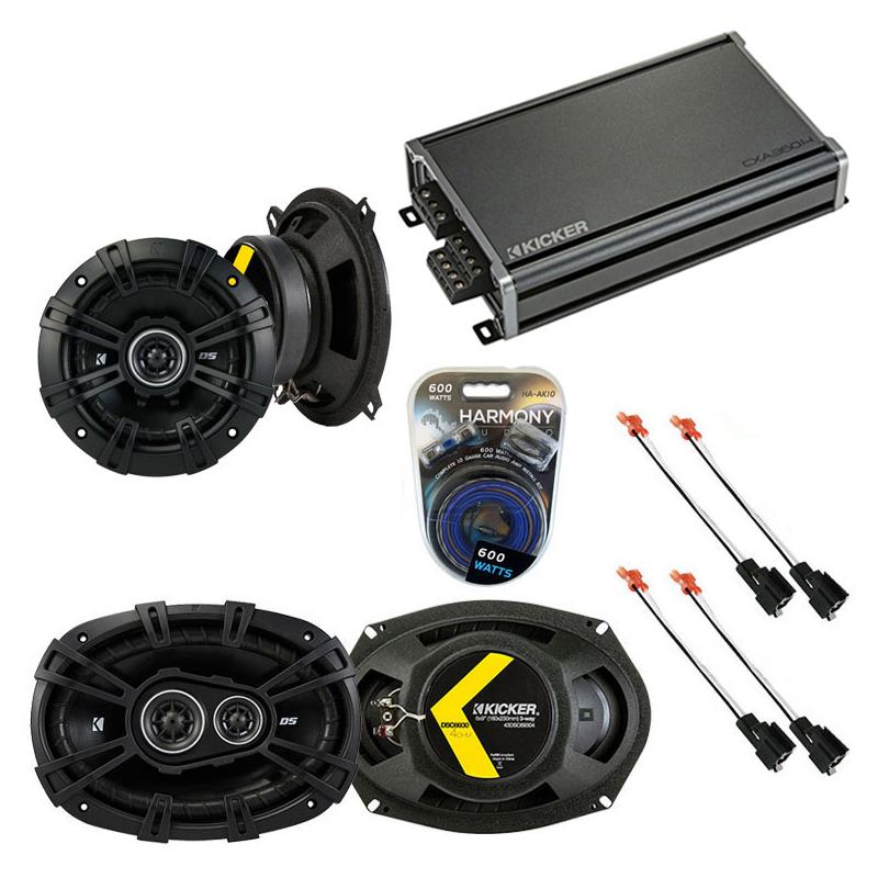 Compatible with Dodge Caravan 2001-2001 Factory Speaker Replacement Kicker DSC5 DSC693 & CXA360.4