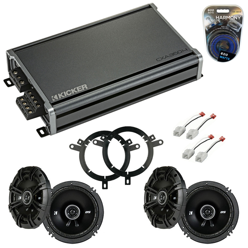Compatible with Dodge Dakota 2002-2004 Factory Speaker Replacement Kicker (2) DSC65 & CXA360.4