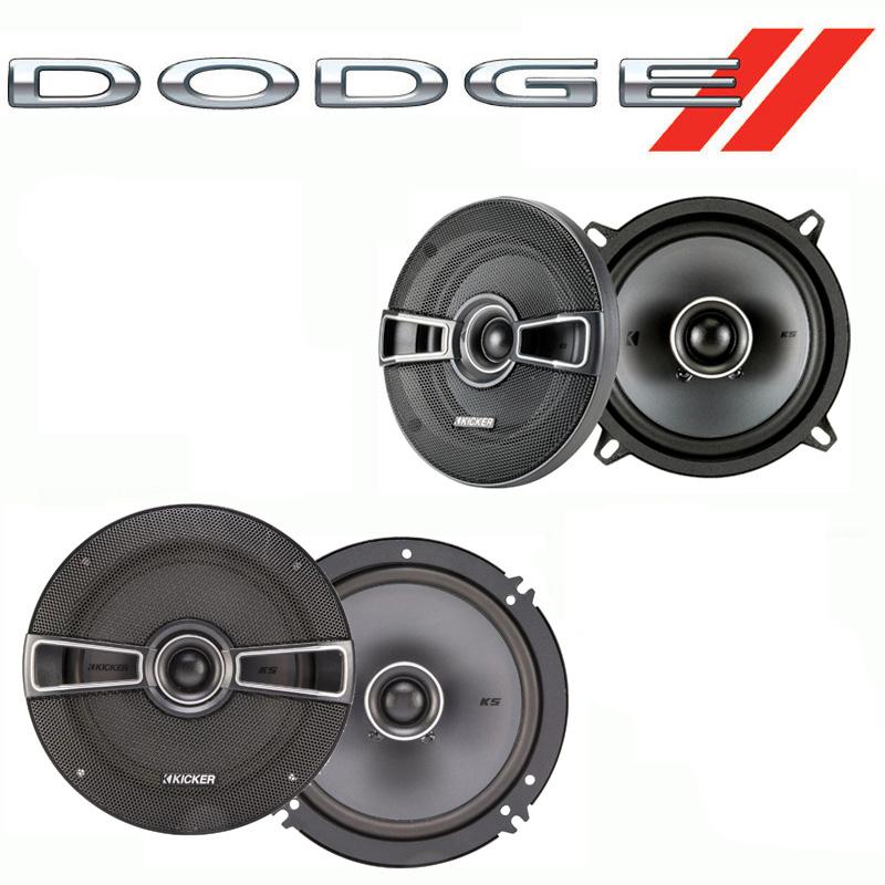 Dodge Omni 1978-1990 Factory Speaker Replacement Kicker KSC5 KSC65 Package New