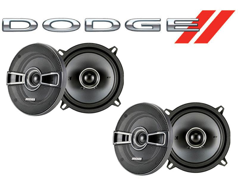 Dodge Spirit 1989-1994 Factory Speaker Replacement Kicker (2) KSC5 Package New
