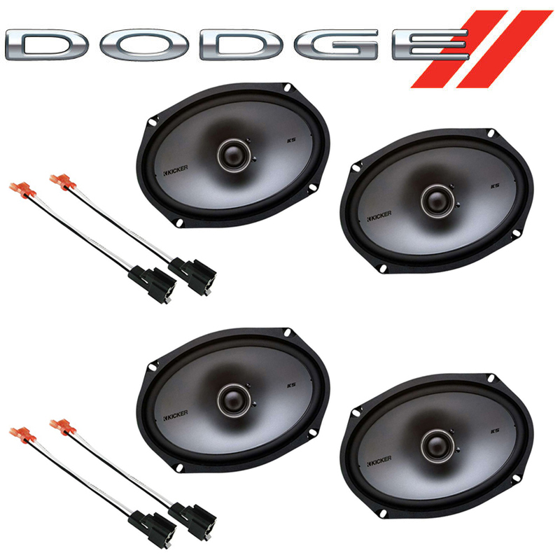 Dodge Stratus 2001-2006 Factory Speaker Replacement Kicker (2) KSC69 Package New